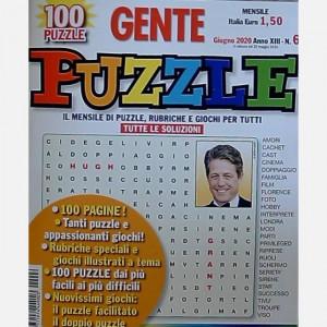 GENTE Puzzle  Uscita Nº 6 del 25/05/2020 Periodicità: Mensile Editore: Hearst Magazines Italia