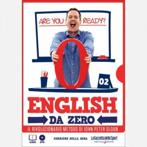 English da Zero di John Peter Sloan (ed. 2020) Uscita Nº 2 del 23/04/2020Periodicità: SettimanaleEditore: RCS MediaGroup