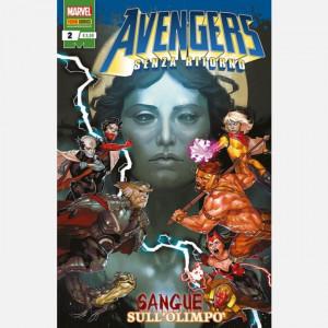 Avengers – Senza Ritorno  Uscita Nº 2 del 01/08/2019 Periodicità: Mensile Editore: Panini S.p.A.