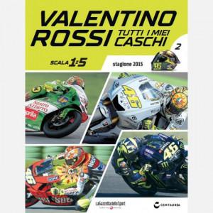 Valentino Rossi - Tutti i miei caschi   Uscita Nº 2 del 16/01/2020 Periodicità: Quindicinale Editore: Centauria