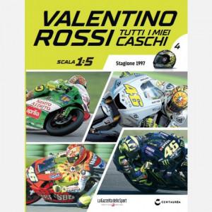Valentino Rossi - Tutti i miei caschi   Uscita Nº 4 del 17/02/2020 Periodicità: Quindicinale Editore: Centauria