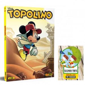 Disney Topolino presenta il Manuale delle Giovani Marmotte  Uscita Nº 3365 del 20/05/2020 Periodicità: Mensile Editore: PANINI S.p.A.WALT DISNEY