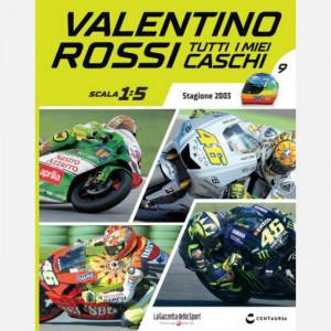 Valentino Rossi - Tutti i miei caschi   Uscita Nº 9 del 21/05/2020 Periodicità: Quindicinale Editore: Centauria
