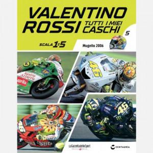 Valentino Rossi - Tutti i miei caschi   Uscita Nº 5 del 27/02/2020 Periodicità: Quindicinale Editore: Centauria