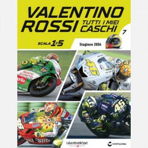 Valentino Rossi - Tutti i miei caschi   Uscita Nº 7 del 23/04/2020 Periodicità: Quindicinale Editore: Centauria