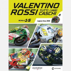 Valentino Rossi - Tutti i miei caschi  Uscita Nº 8 del 07/05/2020 Periodicità: Quindicinale Editore: Centauria