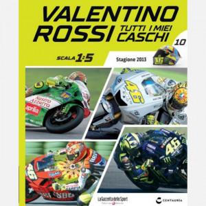 Valentino Rossi - Tutti i miei caschi   Uscita Nº 10 del 04/06/2020 Periodicità: Quindicinale Editore: Centauria