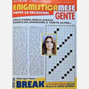 Enigmistica Mese GENTE  Uscita Nº 1 del 04/01/2020 Periodicità: Mensile Editore: Hearst Magazines Italia
