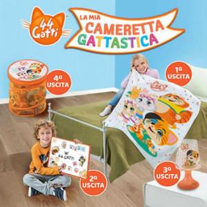 44 Gatti - La mia Cameretta Gattastica  Uscita Nº 2 del 31/03/2020 Periodicità: Mensile Editore: Tridimensional S.r.l.