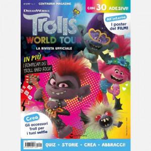 Trolls magazine - la rivista ufficiale  Uscita Nº 1 del 22/04/2020 Periodicità: Mensile Editore: Centauria
