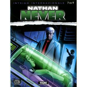 Nathan Never - N° 349 - Tigre - Intrigo Internazionale (M9) Bonelli Editore