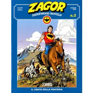 Zagor Darkwood Novels (M6) - N° 2 - Il Vento Della Prateria - Bonelli Editore