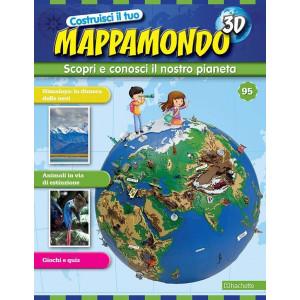Costruisci il Mappamondo 3D 2^ edizione uscita 95