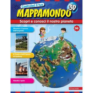 Costruisci il Mappamondo 3D 2^ edizione uscita 96
