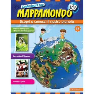 Costruisci il Mappamondo 3D 2^ edizione uscita 98