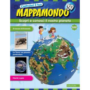 Costruisci il Mappamondo 3D 2^ edizione uscita 100