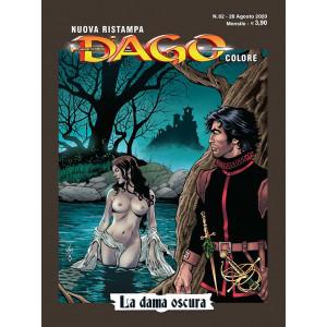 Dago Colore Nuova Ristampa - N° 62 - La Dama Oscura - Editoriale Aurea