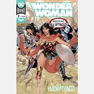 Wonder Woman - DC Comics  Uscita Nº 2 del 30/07/2020 Periodicità: Mensile Editore: Panini S.p.A.