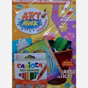 Disney Art Attack - Magazine  Uscita Nº 42 del 25/07/2020 Periodicità: Mensile Editore: PANINI S.p.A.WALT DISNEY