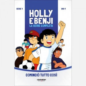 Holly & Benji - La serie completa in DVD  Uscita Nº 1 del 29/07/2020 Periodicità: Settimanale Editore: RCS MediaGroup