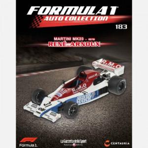 Formula 1 Auto Collection  Uscita Nº 183 del 31/07/2020 Periodicità: Quindicinale Editore: Centauria Editore