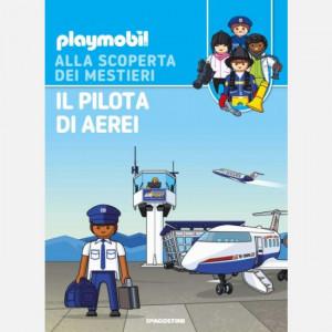PLAYMOBIL - Alla scoperta dei mestieri  Uscita Nº 26 del 25/07/2020 Periodicità: Quindicinale Editore: DeAgostini Publishing
