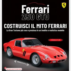 Costruisci la tua Ferrari 250 GTO  Uscita Nº 25 del 25/07/2020 Periodicità: Settimanale Editore: Centauria Editore