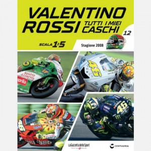 Valentino Rossi - Tutti i miei caschi   Uscita Nº 12 del 02/07/2020 Periodicità: Quindicinale Editore: Centauria Editore