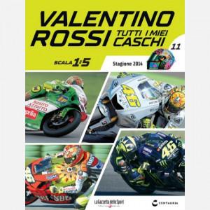 Valentino Rossi - Tutti i miei caschi   Uscita Nº 11 del 20/06/2020 Periodicità: Quindicinale Editore: Centauria Editore