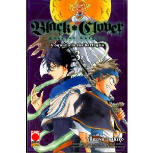 Black Clover Quartet Knights - N° 3 - Powers 10 - Panini Comics
