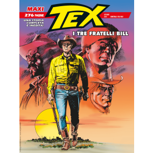 Maxi Tex N.27 - I tre fratelli Bill