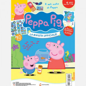 Peppa Pig - La Rivista Ufficiale!  Uscita Nº 155 del 05/08/2020 Periodicità: Quindicinale Editore: Centauria Editore