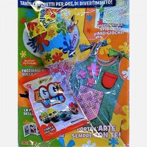 Disney Art Attack - Magazine  Uscita Nº 43 del 25/08/2020 Periodicità: Mensile Editore: PANINI S.p.A.WALT DISNEY