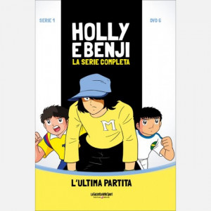Holly & Benji - La serie completa in DVD  Uscita Nº 6 del 02/09/2020 Periodicità: Settimanale Editore: RCS MediaGroup