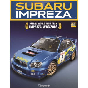 Costruisci la Subaru Impreza WRC 2003 uscita 105