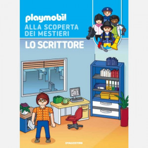 PLAYMOBIL - Alla scoperta dei mestieri  Uscita Nº 37 del 10/10/2020 Periodicità: Quindicinale Editore: DeAgostini Publishing