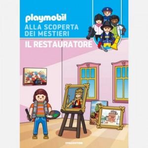 PLAYMOBIL - Alla scoperta dei mestieri  Uscita Nº 35 del 26/09/2020 Periodicità: Quindicinale Editore: DeAgostini Publishing