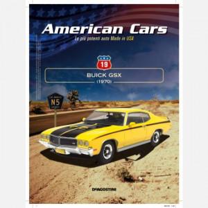 American Cars Collection  Uscita Nº 19 del 24/09/2020 Periodicità: Quindicinale Editore: DeAgostini Publishing