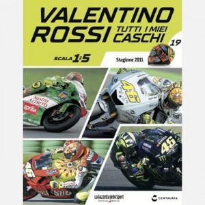 Valentino Rossi - Tutti i miei caschi   Uscita Nº 19 del 08/10/2020 Periodicità: Quindicinale Editore: Centauria Editore