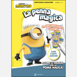 Centauria Magazine - Minions  Uscita Nº 7 del 22/10/2020 Periodicità: Mensile Editore: Centauria Editore