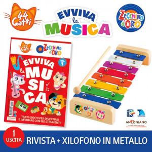 44 Gatti & Lo Zecchino d'Oro - Evviva la Musica  Uscita Nº 1 del 30/09/2020 Periodicità: Mensile Editore: Tridimensional S.r.l.