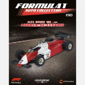Formula 1 Auto Collection  Uscita Nº 190 del 15/10/2020 Periodicità: Settimanale Editore: Centauria Editore