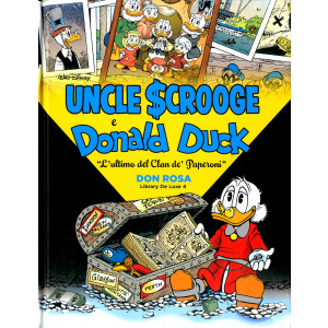 Don Rosa Library Deluxe - N° 4 - L'Ultimo Del Clan De' Paperoni - Panini Comics