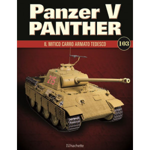 Costruisci il leggendario Panzer V Panther uscita 103