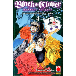 Black Clover Quartet Knights - N° 4 - Powers 11 - Panini Comics