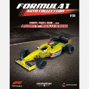 Formula 1 Auto Collection  Uscita Nº 191 del 22/10/2020 Periodicità: Settimanale Editore: Centauria Editore