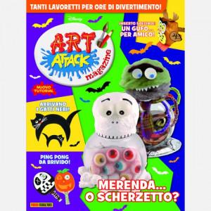 Disney Art Attack - Magazine  Uscita Nº 45 del 18/10/2020 Periodicità: Mensile Editore: PANINI S.p.A.WALT DISNEY