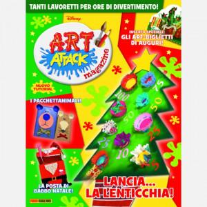 Disney Art Attack - Magazine  Uscita Nº 46 del 25/11/2020 Periodicità: Mensile Editore: PANINI S.p.A.WALT DISNEY