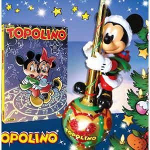 Topolino Libretto Con Allegati - N° 3394 - Puntale Per L'Albero Di Natale - Panini Comics