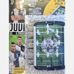 Juventus - Il Magazine Ufficiale  Uscita Nº 21 del 11/08/2020 Periodicità: Mensile Editore: Tridimensional S.r.l.